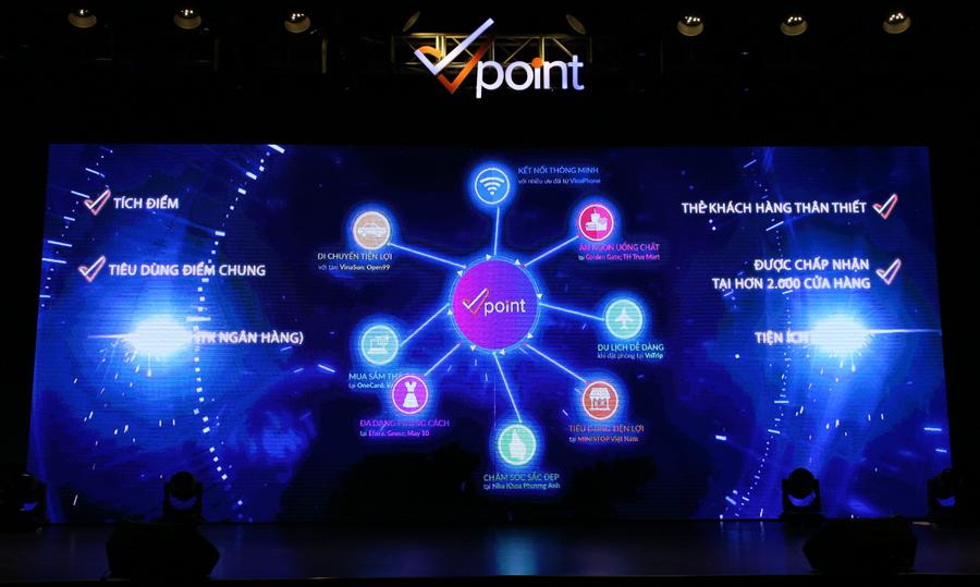 Vinaphone ra mắt thẻ tích điểm đa năng Vpoint