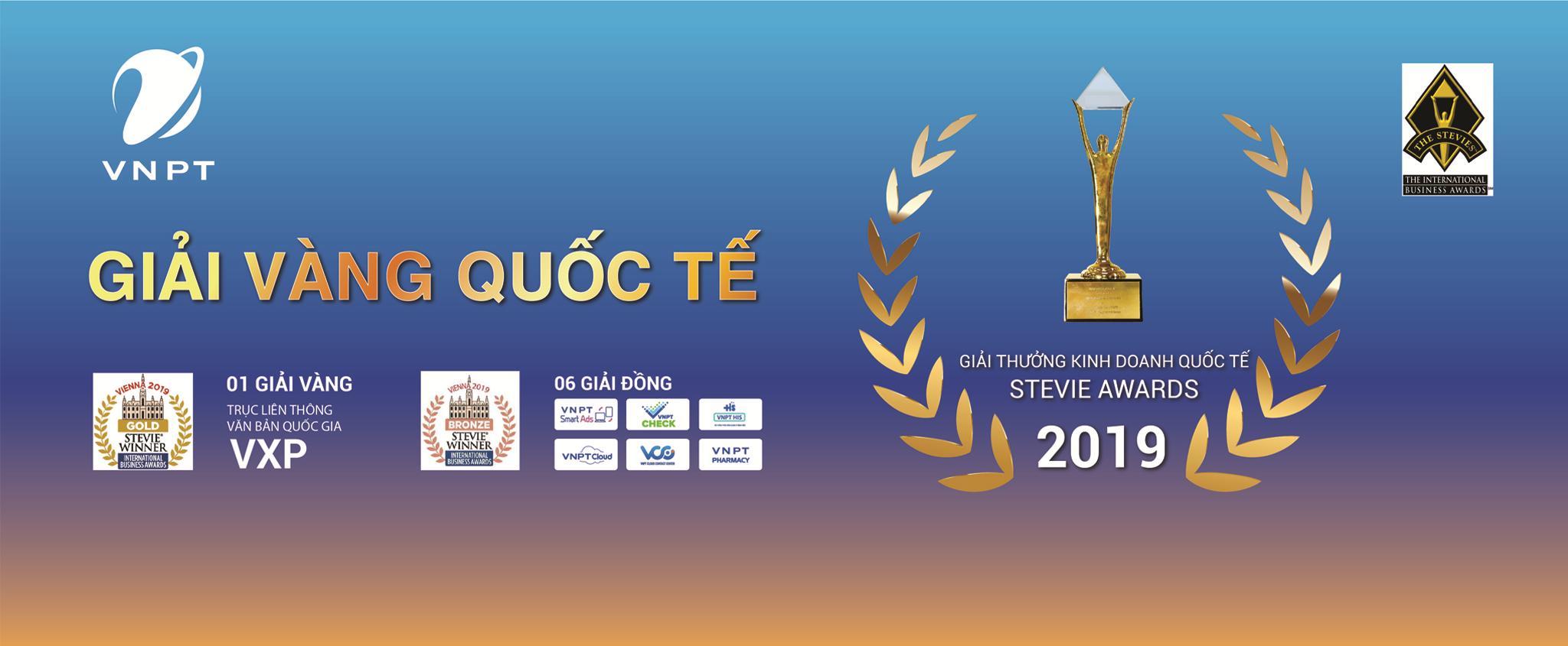 VNPT đạt giải thưởng Stevie awards IBA 2019
