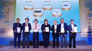 VNPT GIÀNH GIẢI THƯỞNG TOP ICT VIỆT NAM 2019
