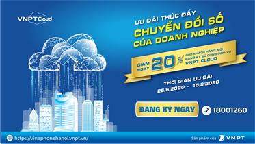 VNPT Cloud giúp đẩy nhanh chuyển đổi số doanh nghiệp