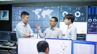 Mô hình giám sát an toàn thông tin trên không gian số của VNPT
