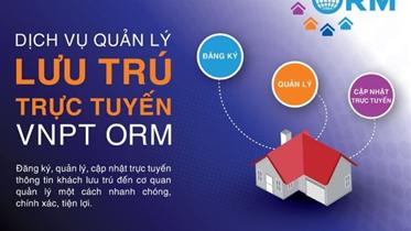 Giải pháp Hệ thống Quản lý lưu trú – VNPT ORM